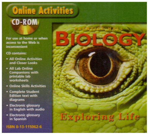 9780131150621: Biology: Exploring Life Online Activities