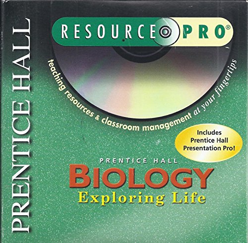 Biology Exploring Life Resource Pro Teaching Resources&Classroom Management at your fingertips (0131150669) by Prentice Hall