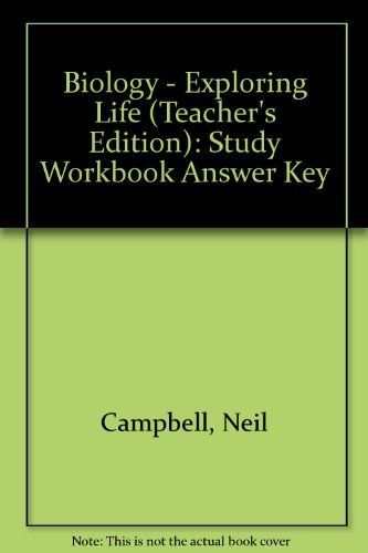 9780131150782: Biology: Exploring Life, Guided Reading and Study Workbook