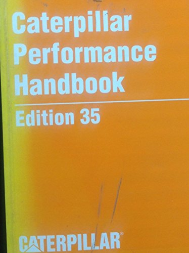 9780131152632: Caterpillar Performance Handbook (Edition 35)