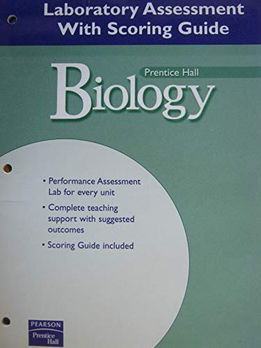 9780131152809: PRENTICE HALL MILLER LEVINE BIOLOGY LABORATORY ASSESSMENT WITH SCORING GUIDE SECOND EDITION 2004
