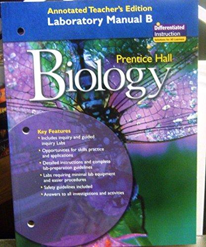 Biology Lab Manual B: XXX