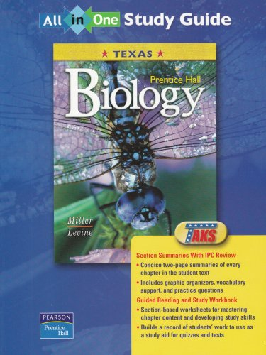 9780131155220: Prentice Hall Biology: Texas : All-in-One Study Guide