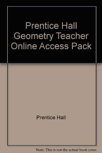 9780131156395: Prentice Hall Geometry Teacher Online Access Pack