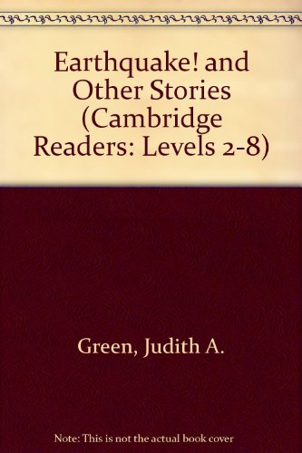 9780131158337: Earthquake! and Other Stories (Cambridge Readers: Levels 2-8)