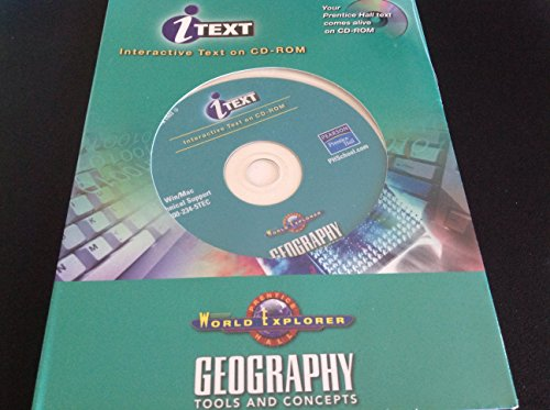 9780131159648: World Explorer: Geography Tools and Concepts Itext Interactive Text