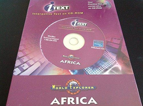 9780131159662: WORLD EXPLORER AFRICA ITEXT CD-ROM THIRD EDITION 2003