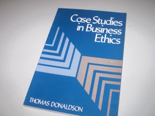 9780131160798: Case Studies in Business Ethics
