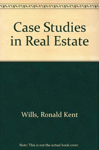 9780131161047: Case Studies in Real Estate