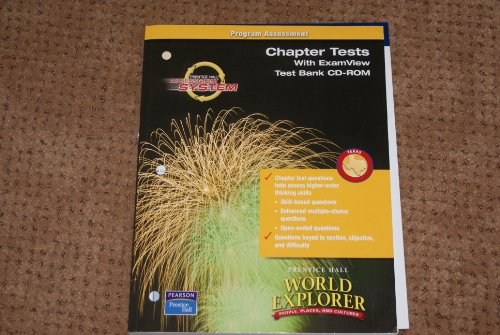 9780131161344: World Explorer People, Places and Cultures (Chapter Tests with ExamView Test Bank CD-ROM)