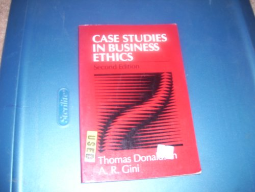 9780131162112: Case Studies in Business Ethics