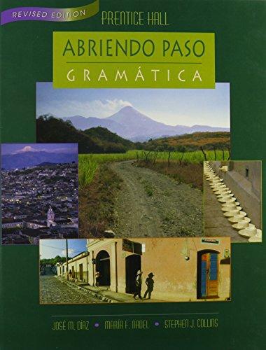 Abriendo Paso Gramatica: Jose M. Diaz,