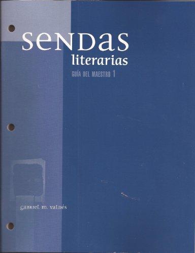 9780131163577: Sendas Literaries Guia Del Maestro 1