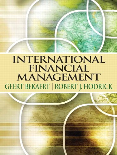 International Financial Management: Geert Bekaert; Robert