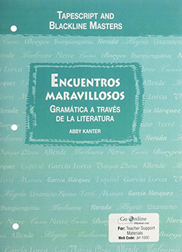 9780131163669: Prentice Hall Encuentros Maravillosos Audio CD with Teacher Script and Blackline Masters 2005c