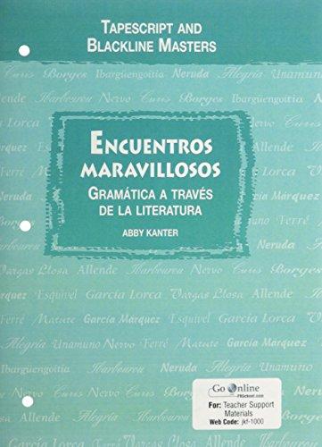 9780131163669: Encuentros Maravillosos: Gramatica A Traves De La Literatura