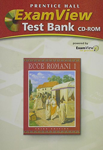 9780131163737: ECCE ROMANI LEVEL 1 COMPUTER TEST BANK PACKAGE WITH TEST BOOK AND CD-ROM2005C