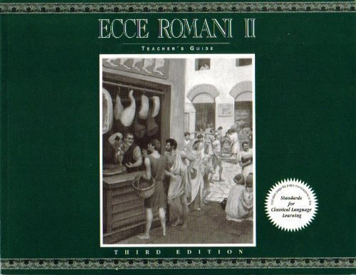 Ecce Romani II, A Latin Reading Program (Teacher's Guide)