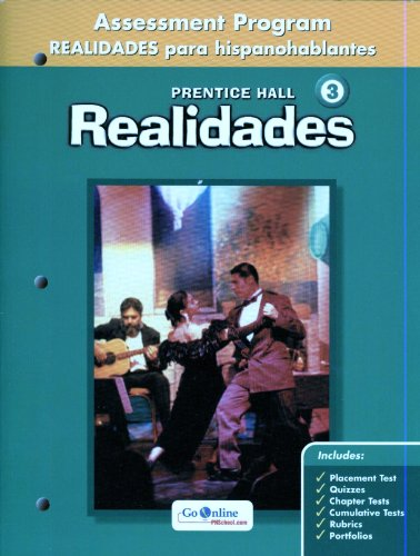 9780131164284: Realidades 3 : Assessment Program: Realidades para Hispanohablantes