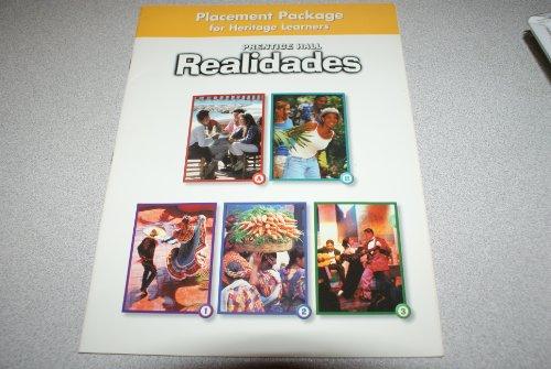 9780131164291: Realidades 1 : Placement Test: Realidades para Hispanohablantes W/Audio CD