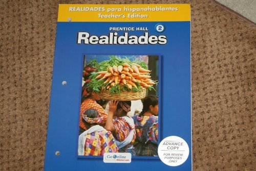 9780131164338: Realidades 2 Teacher's Edition para hispanohablantes