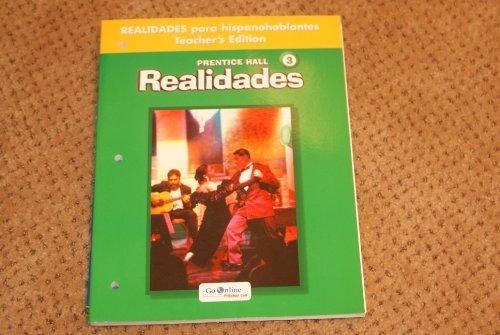 9780131164345: Realidades 3 para hispanohablantes Teacher's Edition