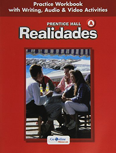 9780131164611: Realidades: Practice Workbook with Writing, Audio & Video Activities, Level A