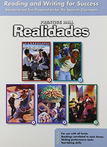 9780131164857: PRENTICE HALL REALIDADES READING AND WRITING FOR SUCCESS STUDENT WORKBOOK 2004C
