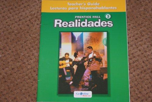 9780131165076: Realidades 3 Lecturas para hispanohablantes Teacher's Guide