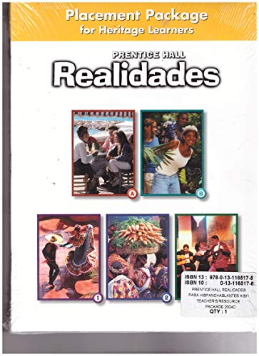 Realidades A/B-1 Teachers Resource Package (Realidades): Pearson Prentice Hall