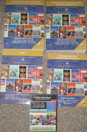 Prentice Hall Literature, Grades 6-12: Library Teaching Resources With Tests And CD-ROM: Complete ...