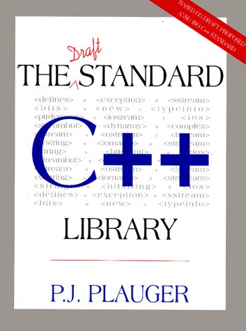 9780131170032: Draft Standard C++ Library, The