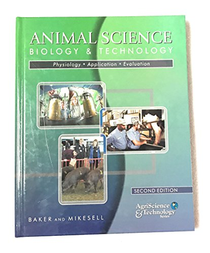Animal Science Biology & Technology (AgriScience & Technology Series): Baker, Mee Cee