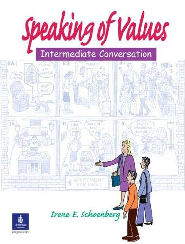 9780131172265: Speaking of Values 1: Student Book: Intermediate Conversation