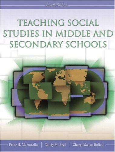 9780131172449: Teaching Social Studies in Middle and Secondary Schools (4th Edition)