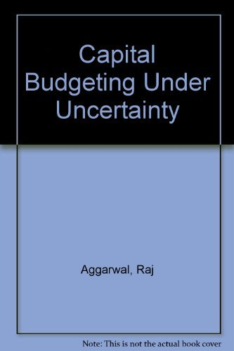 9780131172500: Capital Budgeting Under Uncertainty