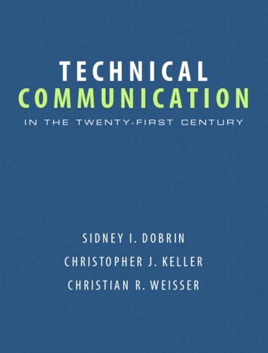 9780131172883: Technical Communication in the Twenty-First Century