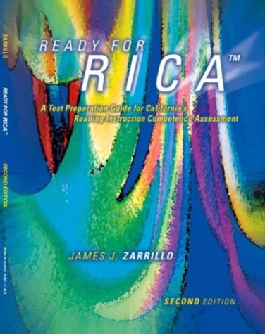 9780131173606 Ready For Rica A Test Preparation Guide For