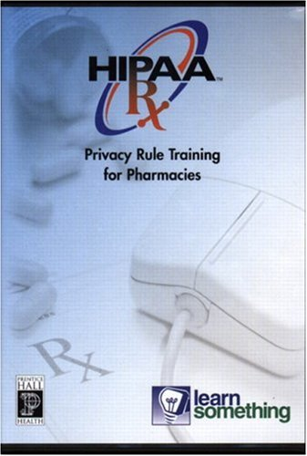 9780131174054: HIPAA Privacy RX: The Privacy Rule and Pharmacy Practice (CD-ROM Version)