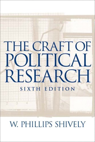 9780131174405: Craft of Political Research, The (6th Edition)