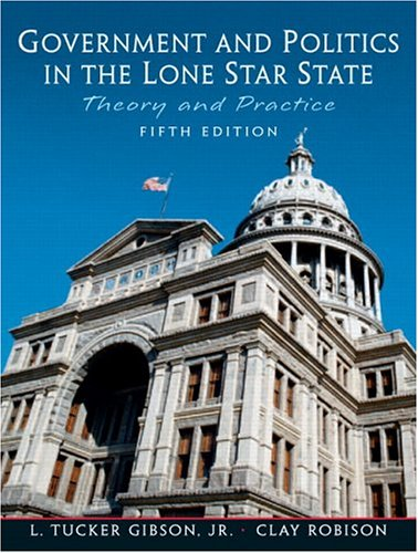 9780131174535: Government and Politics in the Lone Star State (5th Edition)