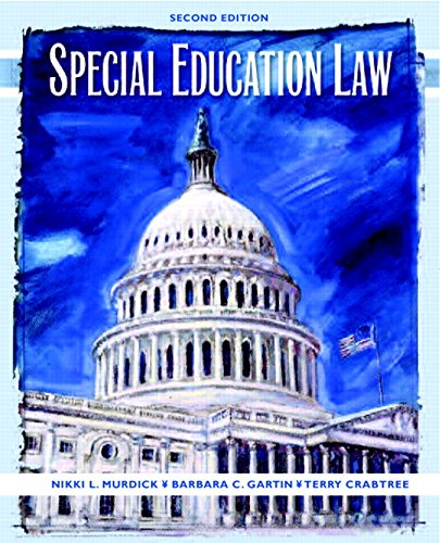 9780131175716: Special Education Law (2nd Edition)