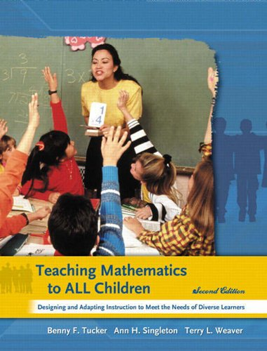 9780131175747: Teaching Mathematics to All Children: Designing and Adapting Instruction to Meet the Needs of Diverse Learners