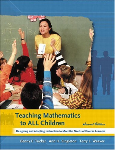 9780131175747: Teaching Mathematics to All Children: Designing and Adapting Instruction to Meet the Needs of Diverse Learners (2nd Edition)
