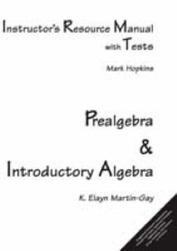 9780131176263: Instructor's Resource Manual with Tests