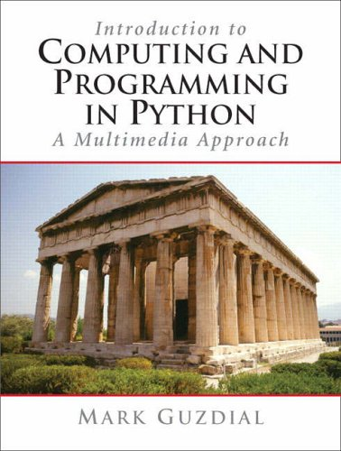 9780131176553: Introduction to Computing and Programming in Python: A Multimedia Approach