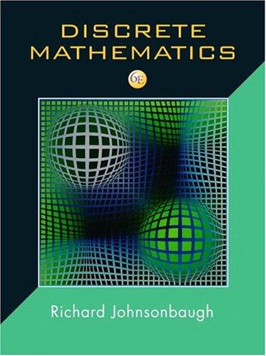 9780131176867: Discrete Mathematics (6th Edition) (Jk Computer Science and Mathematics)