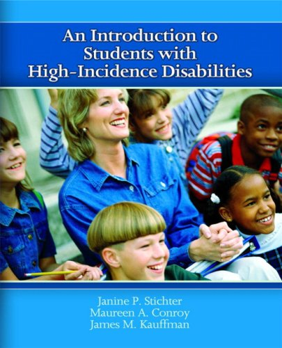 9780131178021: An Introduction to Students with High-Incidence Disabilities