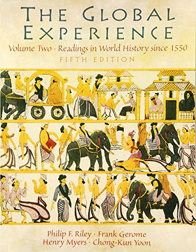 9780131178182: Global Experience, The, Volume 2 (5th Edition)