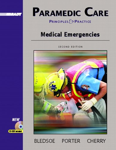 9780131178342: Paramedic Care: Principles and Practices, Volume 3: Medical Emergencies (2nd Edition) (Paramedic Care Principles & Practice Series)